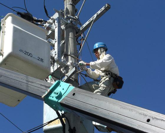 県立広島北特別支援学校太陽光発電設備設置4