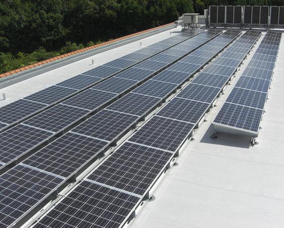 県立広島北特別支援学校太陽光発電設備設置6