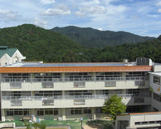 県立広島北特別支援学校太陽光発電設備設置5