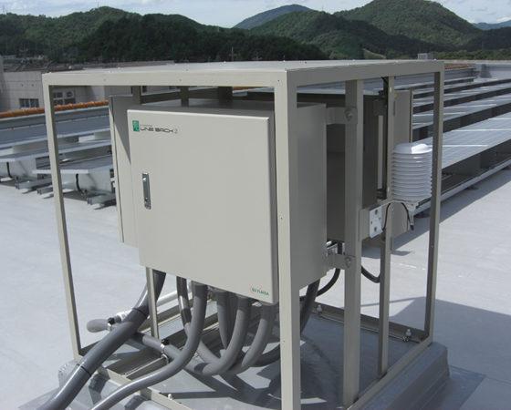 県立広島北特別支援学校太陽光発電設備設置8